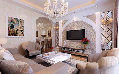 家天下三室两厅现代简约风格装修效果图