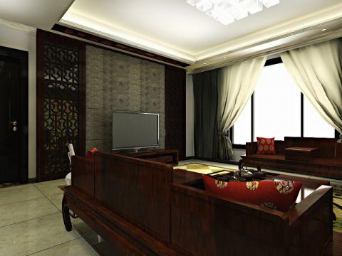 融侨天骏四室两厅中式风格装修效果图