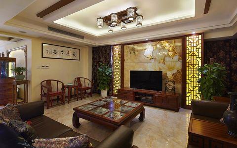 新城长岛现代中式风装修图