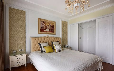 卧室美式风格效果图