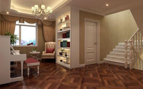 书房楼梯欧式风格装饰效果图