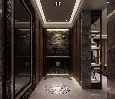 玄关走廊现代中式风格装修效果图