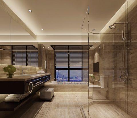 卫生间现代中式风格装饰设计图片