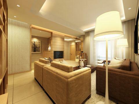 新中式风温馨家居装修效果图