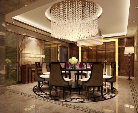 餐厅吊顶新古典风格装饰图片