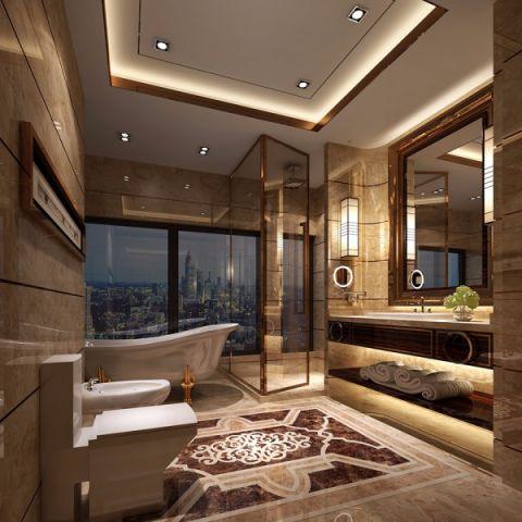 卫生间新古典风格效果图