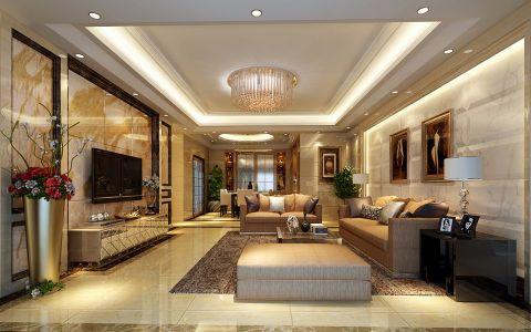 120平现代简约风公寓装修图