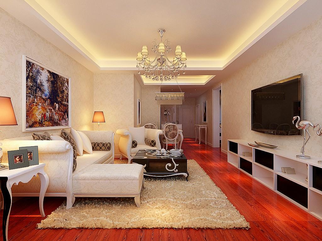 2室2卫1厅110平米简欧风格