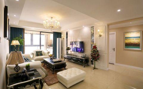 保利香槟国际简欧风格三居室装修图片