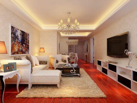 龙湖时代天街简欧风格三居室设计