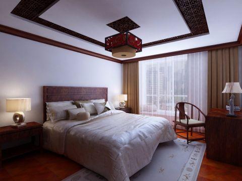 新中式古典风格家居案例效果图