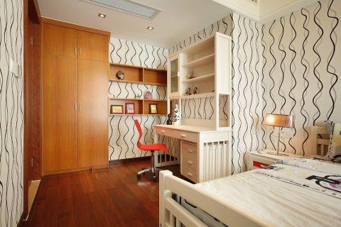 2019现代欧式卧室装修设计图片 2019现代欧式书桌图片