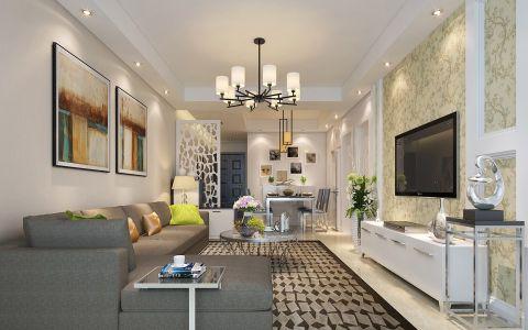 2019现代简约100平米图片 2019现代简约公寓装修设计