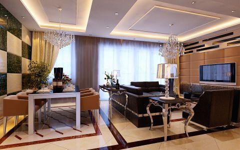 福星城三室两厅现代简约风格装修效果图