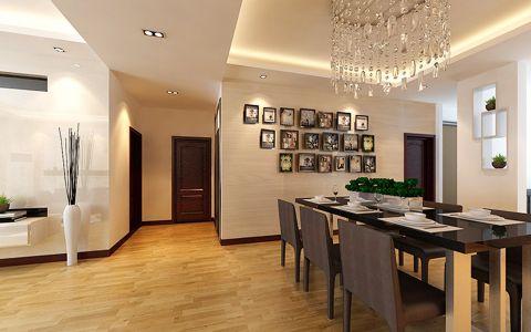 广视花园三室两厅现代简约风格装修效果图