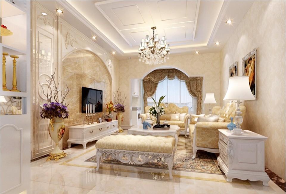 2室1卫2厅95平米欧式风格