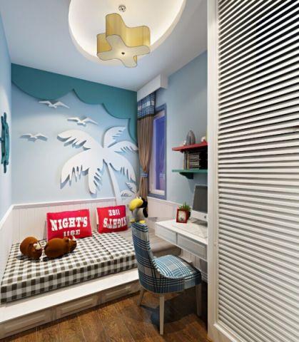 田园风格两居室装修设计图