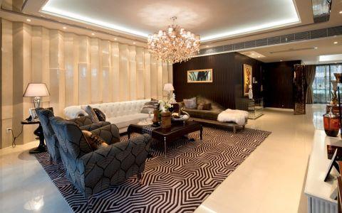 东方一品后现代主义奢华套房装修图片