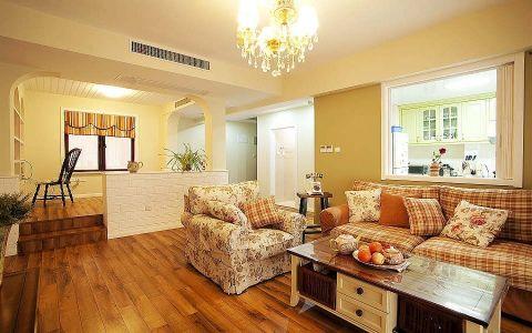 温馨田园风格简单家居装案例图