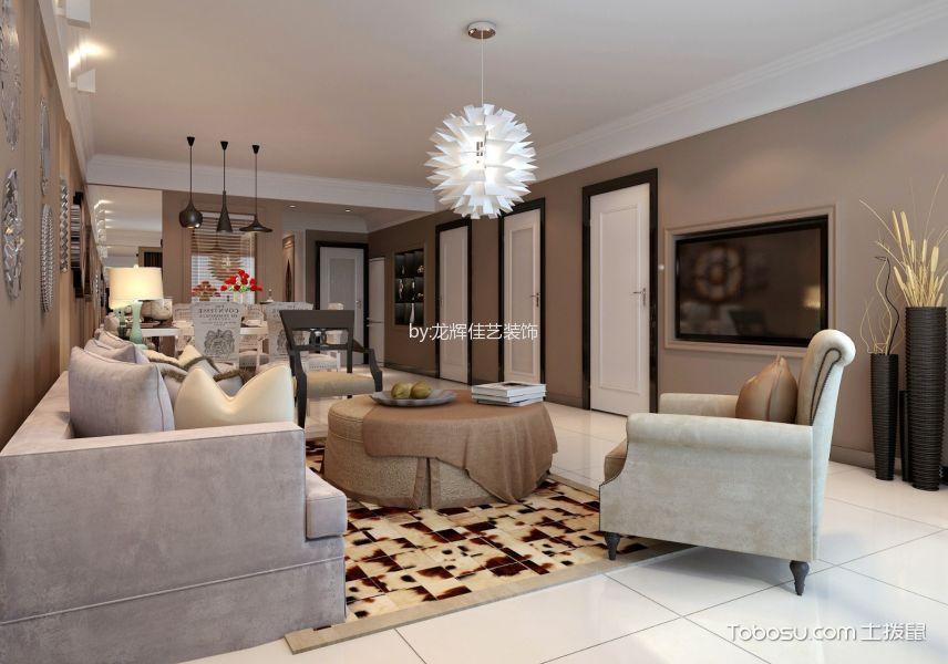 2019古典120平米装修效果图片 2019古典二居室装修设计
