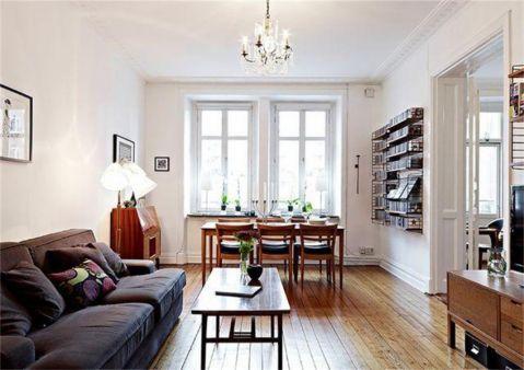 北欧风格公寓设计效果图