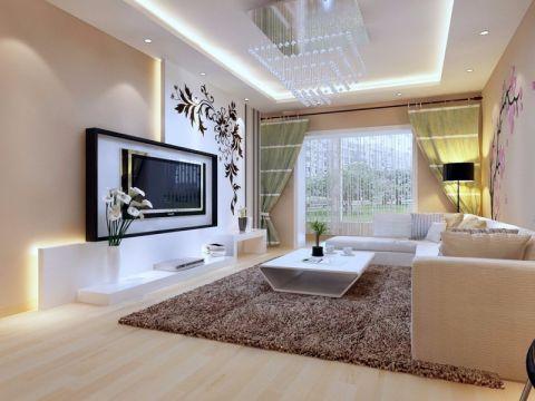 现代简约时尚家居装修案例图