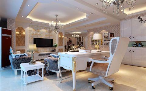 家天下四期三室两厅简欧风格装修效果图