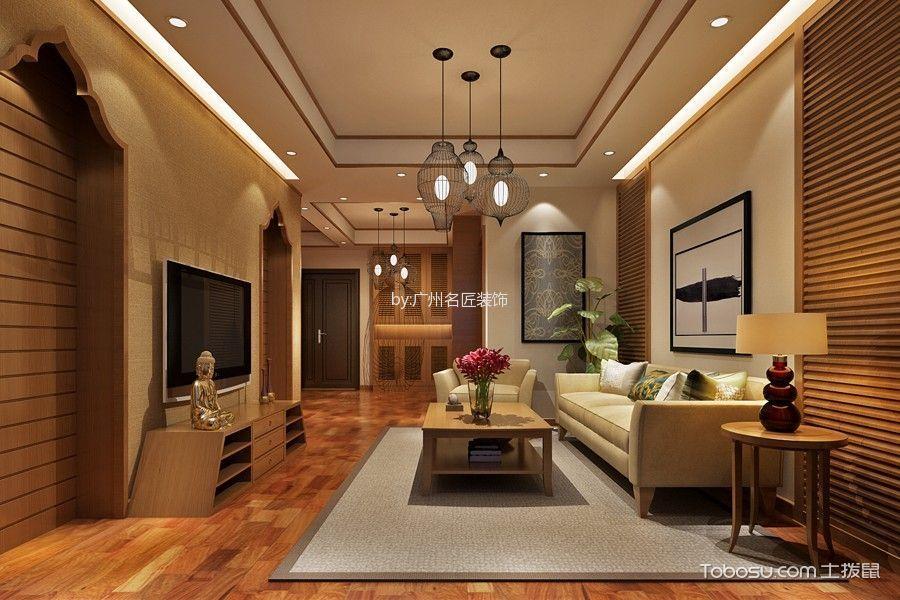 2020东南亚110平米装修图片 2020东南亚套房设计图片