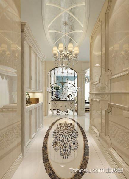 玄关走廊法式风格装修设计图片