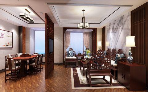 福清中联天域中式古典风格装修案例图