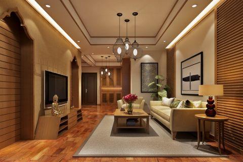 名流印象东南亚风格设计案例效果图