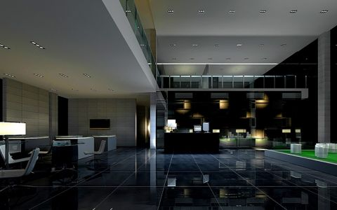 售楼大厅装修效果图