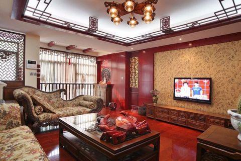 120平中式风格套房装修图片