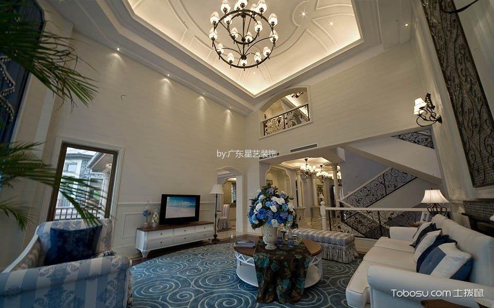 天房意墅美式风格休闲别墅装修案例图