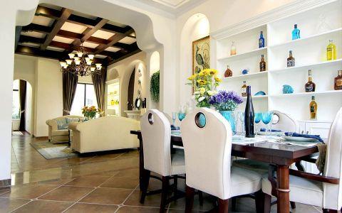 半岛豪庭美式风格四居室大户型装修图