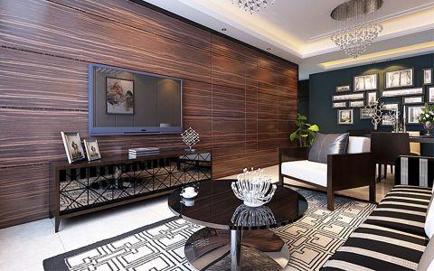 中振和润华府三室两厅后现代前卫风格装修效果图
