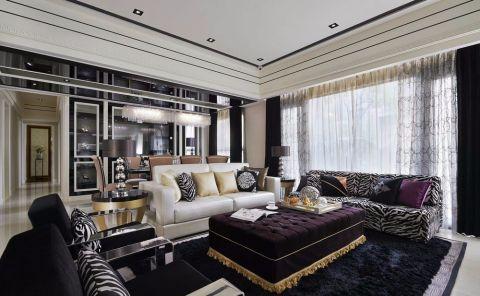 泊林曼谷古典风格大户型装修案例图