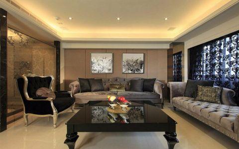时代雅居简欧古典风格三居室装修图