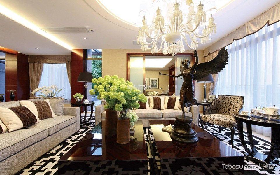 2021古典120平米装修效果图片 2021古典套房设计图片