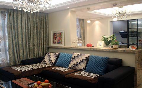 阳光公寓现代风格装修案例图