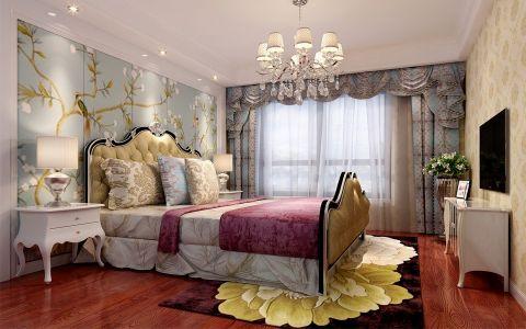 卧室窗帘简欧风格装饰设计图片