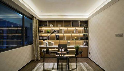 万家名城现代风格四居室装修案例图
