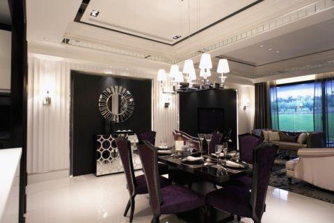 餐厅古典风格装潢设计图片