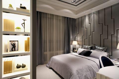 卧室古典风格装饰效果图