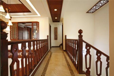 走廊东南亚风格装饰效果图