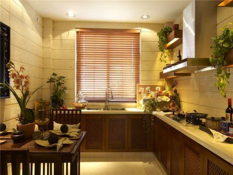厨房东南亚风格装修图片