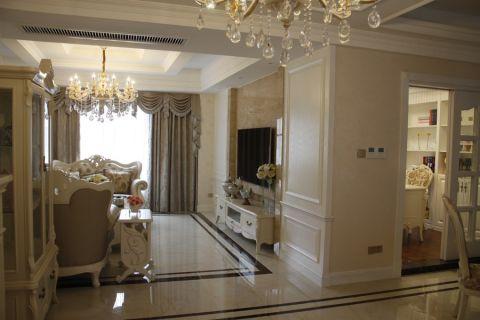 客厅欧式风格装潢图片