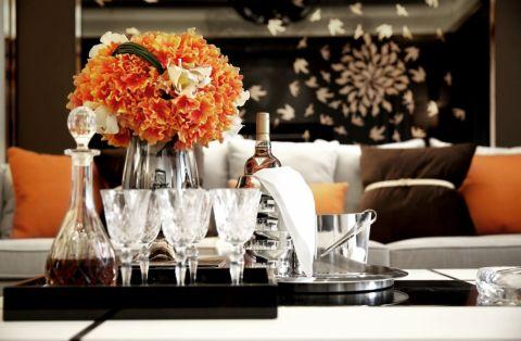 客厅新古典风格装潢效果图