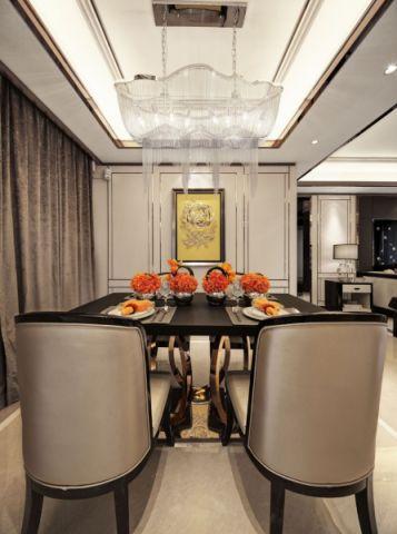 餐厅新古典风格装饰图片