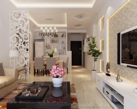 温馨现代简约风格公寓住宅装修图片